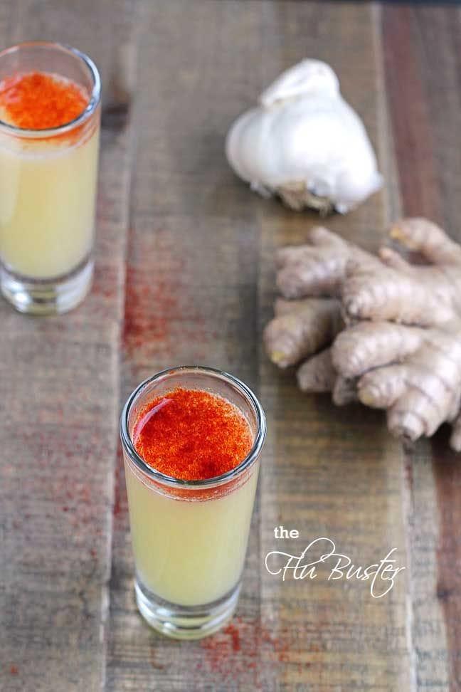 flu buster juice