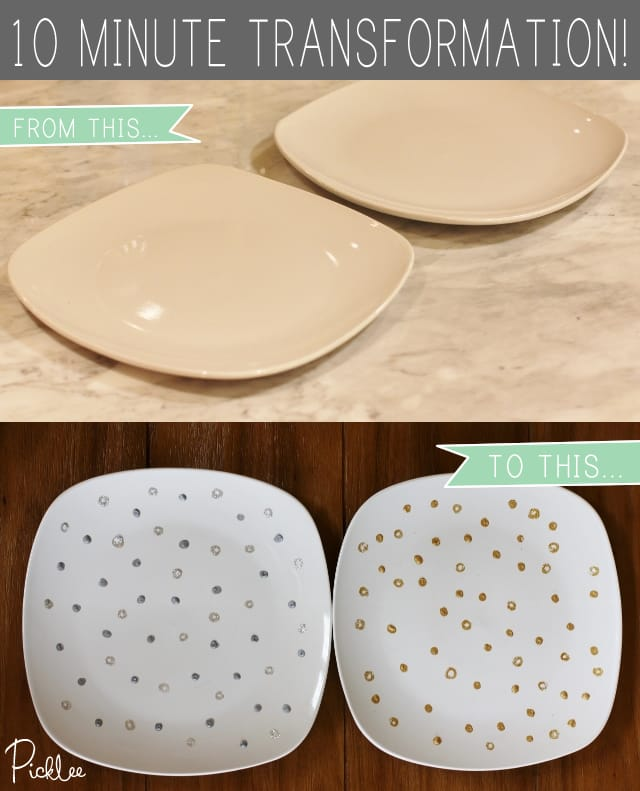 gold-silver-party-platters-10-minute-transformation