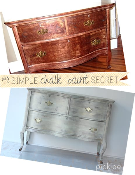 Chalk Paint Finish For Furniture