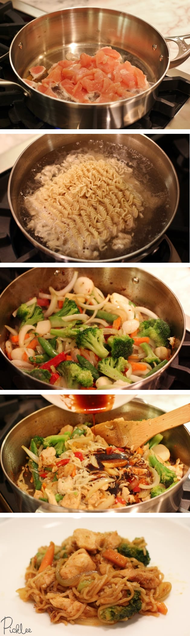 Simple chicken chow mein recipe