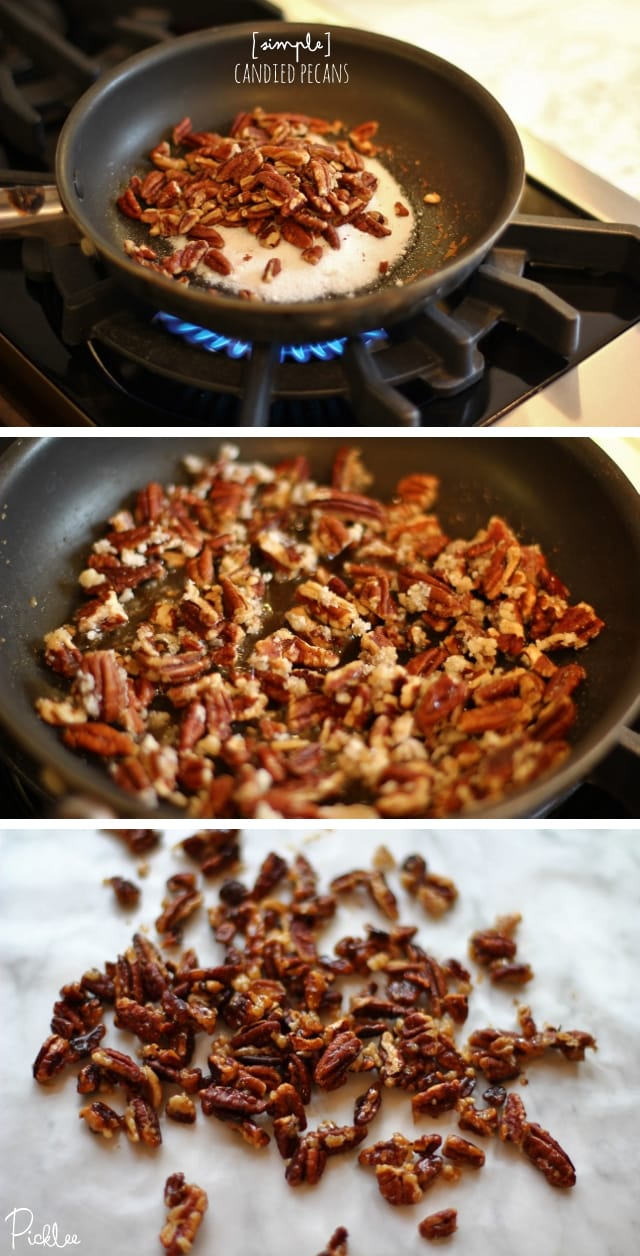 simple candied pecans recipe