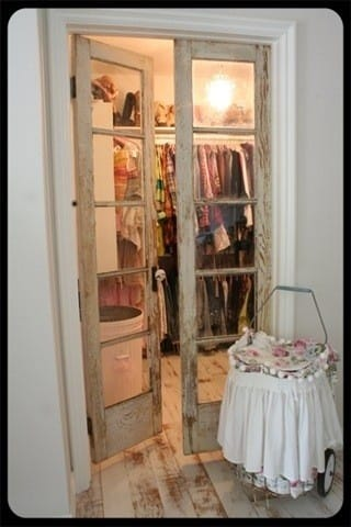 vintage closet doors