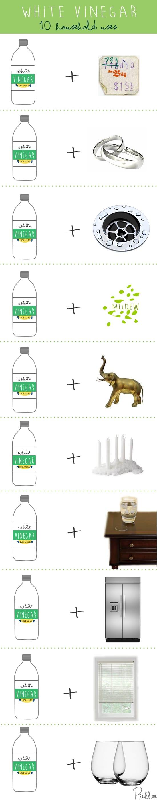10 household uses for vinegar