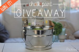 chalk paint giveaway