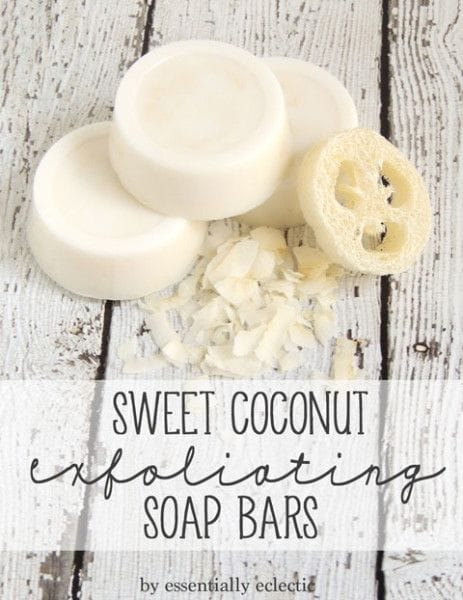 coconut exfoliating soap bars
