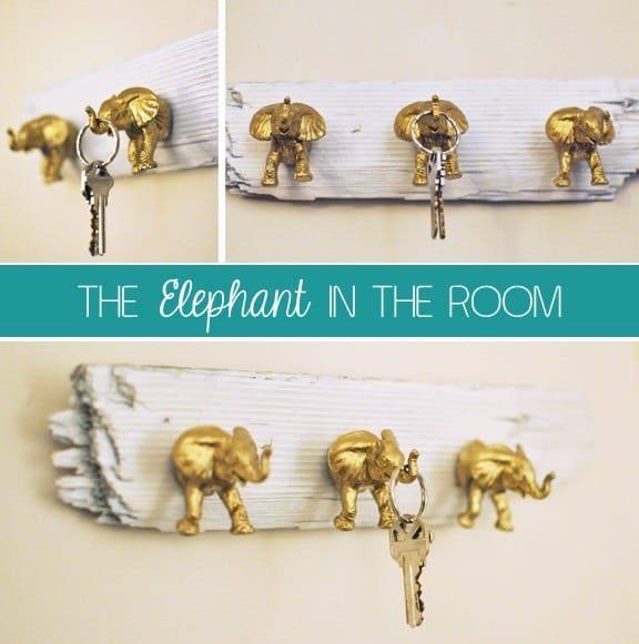 elephant key hook