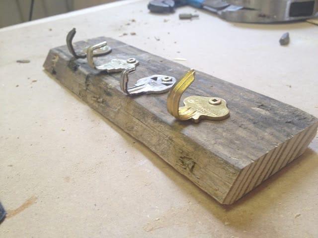 old key key hook