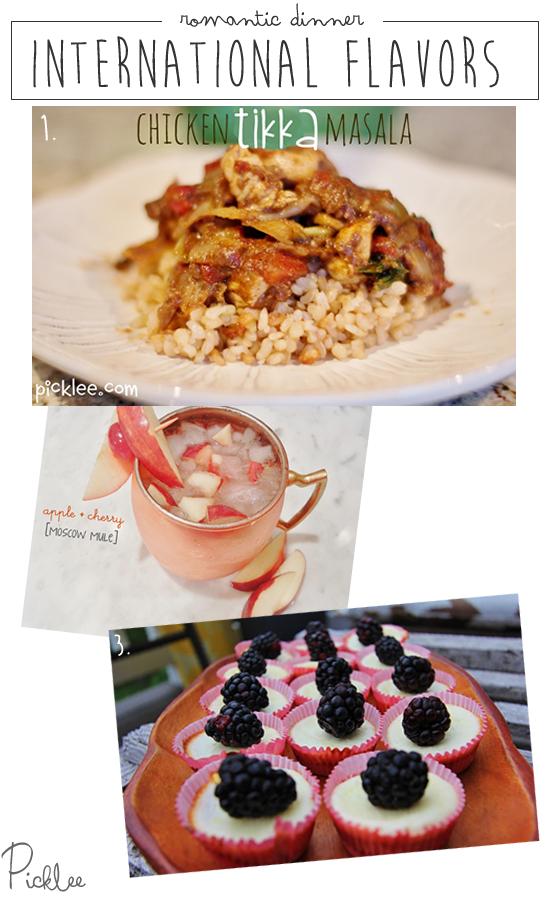 romantic dinner idea-internation flavors
