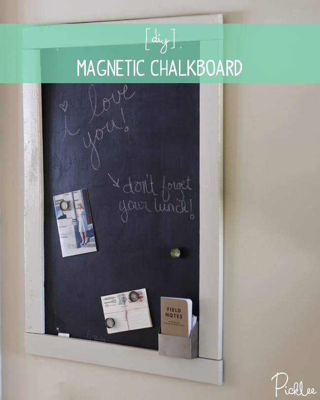 Diy Sheet Metal Magnetic Chalk Board Tutorial
