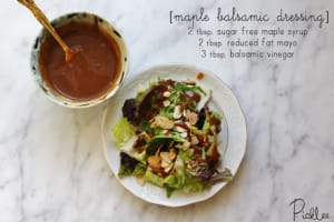 maple balsamic dressing recipe
