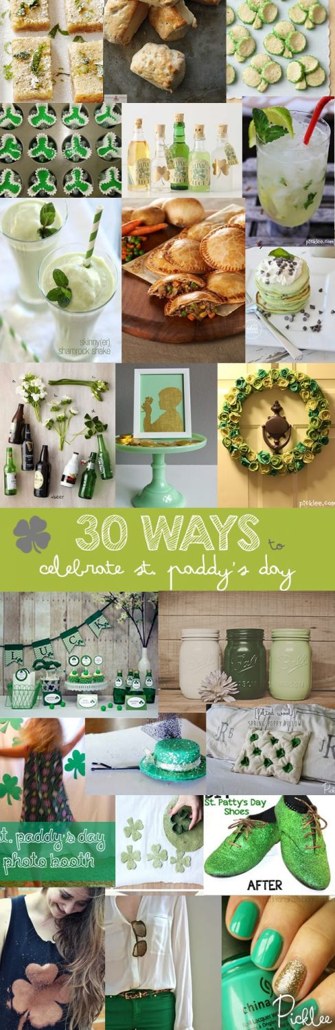 st pattriks day crafts-recipes-diy