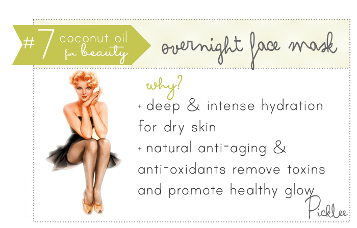 coconut oil uses-face cream