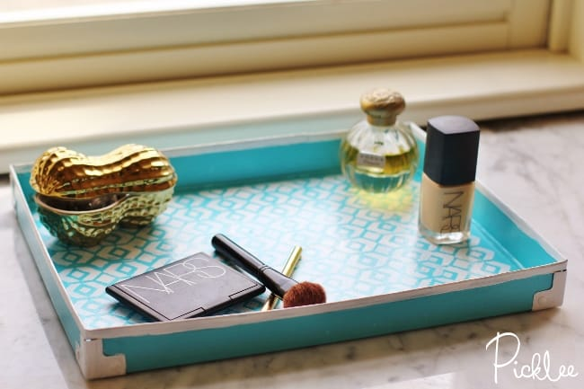 diy makeup tray-cardboard3