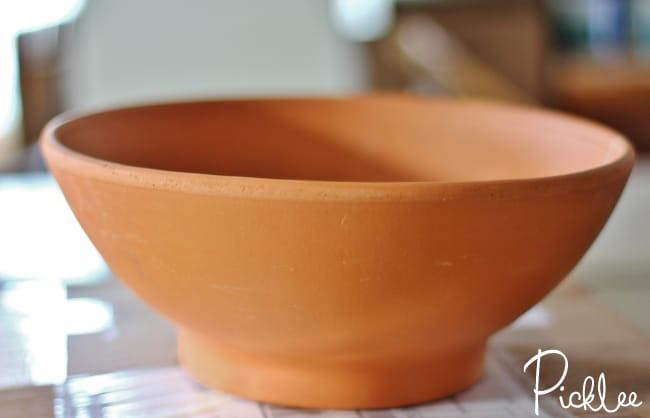terracotta pot