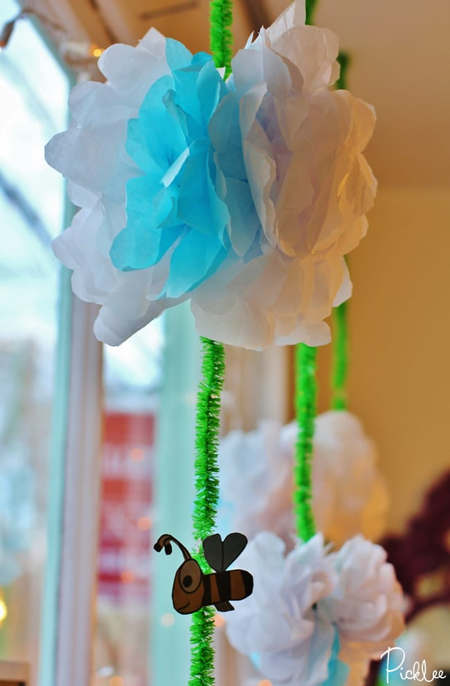 Diy tissue paper flowers video tutorial picklee tissue paper flowers diy 25 mightylinksfo