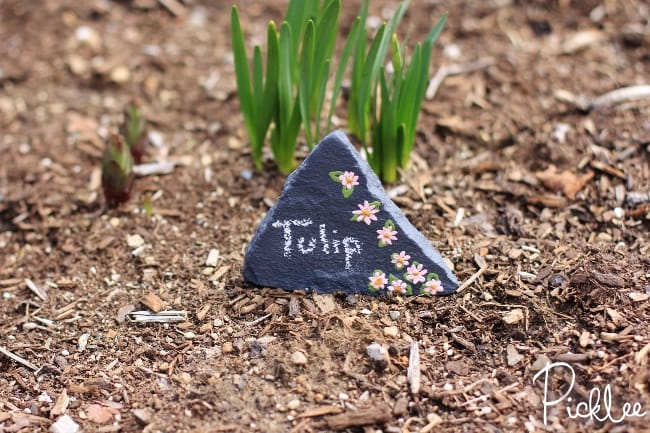 chalky finish garden marker rocks6