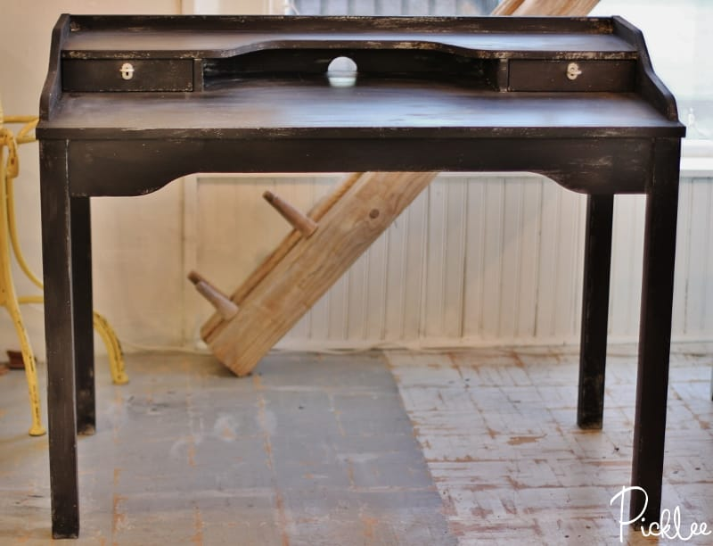ikea hack-industrial-modern-desk