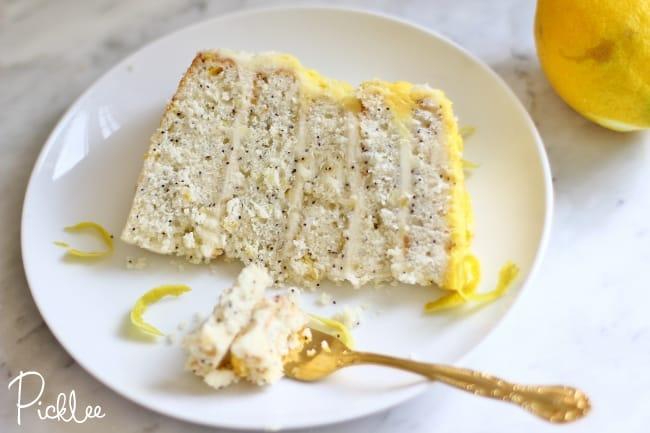 lemon poppy seed ombre cake3
