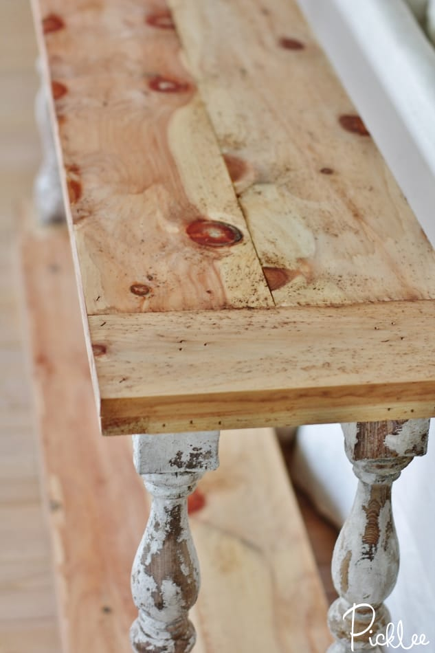 naturally age wood with vinegar2