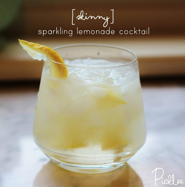 skinny-sparkling-lemonade cockail