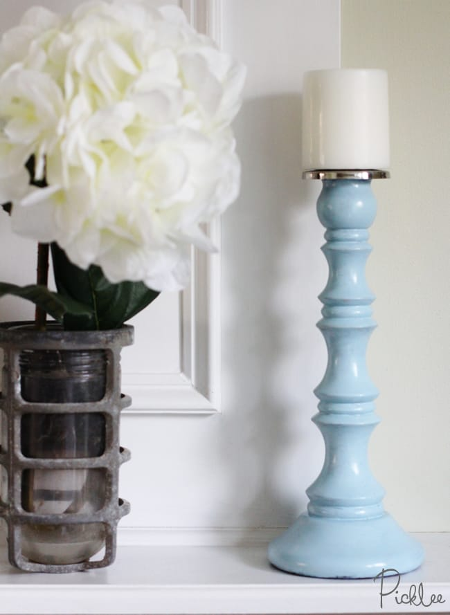 diy candle stick