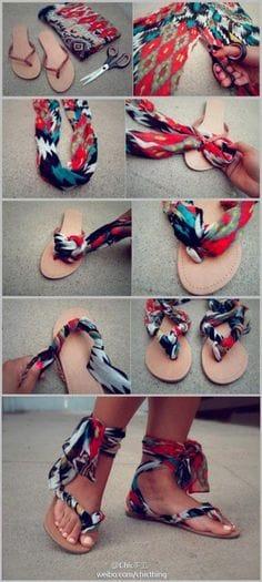 diy sandels