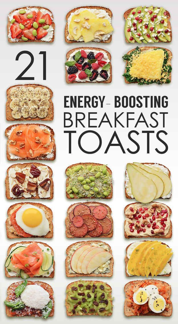 energy boosting breakfasts