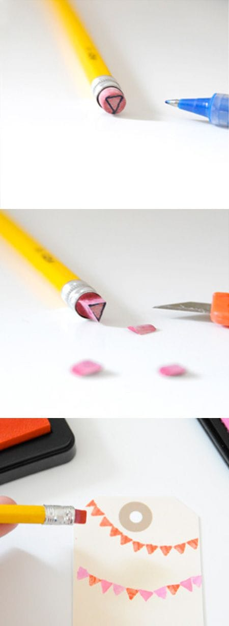 pencil stamp