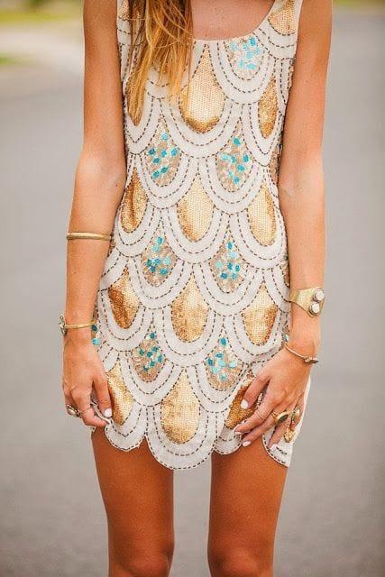 seaquin dress
