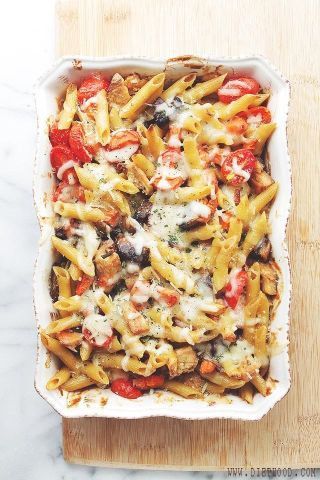 chicken vegetable bake