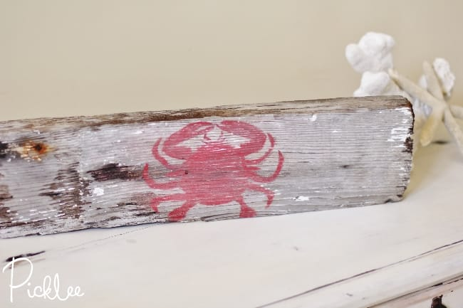 diy driftwood beach sign77