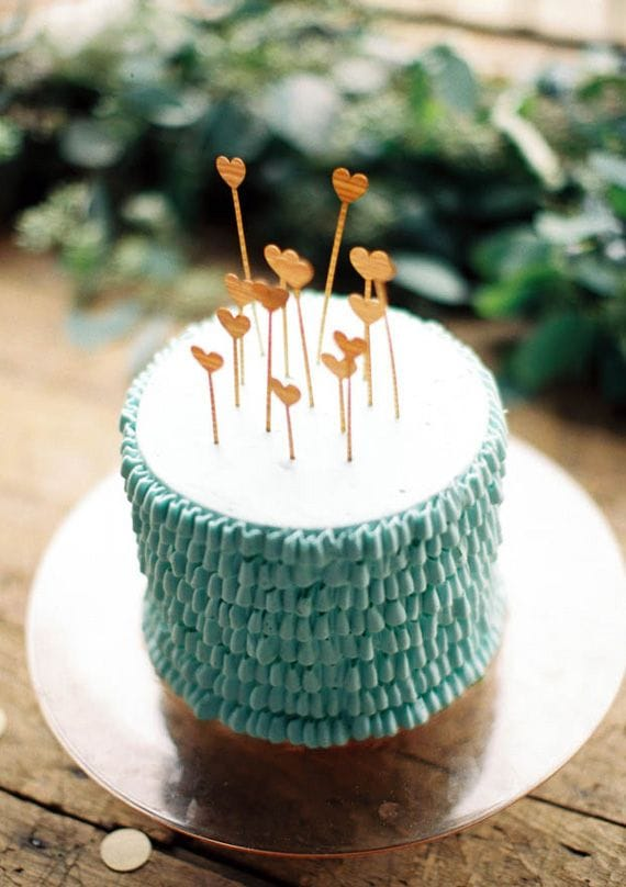 12 simple  u0026 chic diy cake toppers