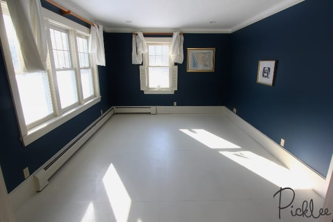 Diy painted plywood subfloor picklee painted plywood sub floor solutioingenieria Gallery
