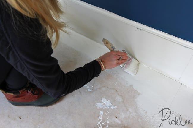 Painted Plywood Sub Floor3