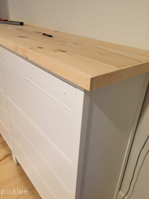 ikea hemnes dresser hack-built in 6