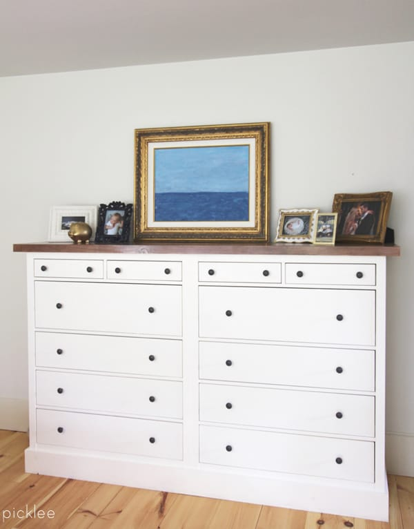 ikea hemnes dresser hack-built in 7