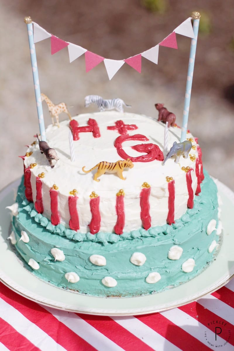 A Circus Birthday Party for Twins [Free Printables] - Picklee
