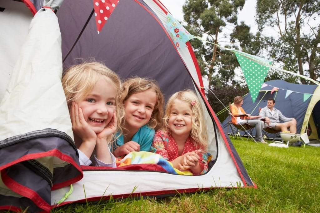 family camping trip benefits